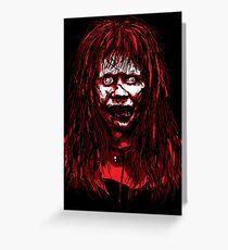Reagan Exorcist Vector Art Greeting Card