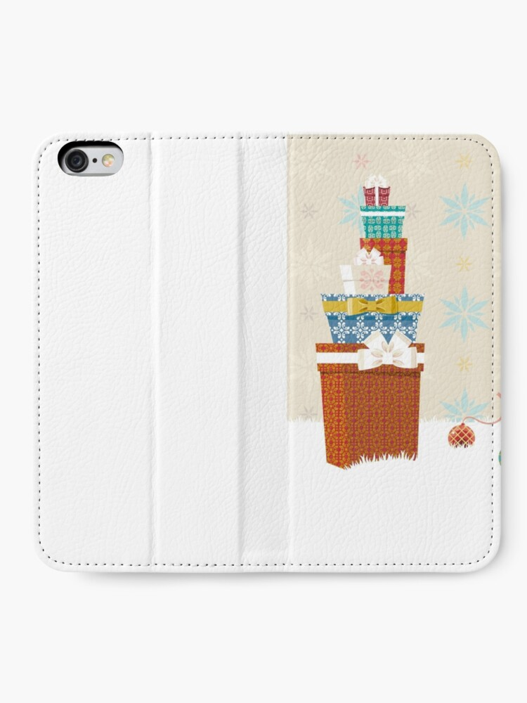 Alternate view of Gifts. Christmas time. iPhone Wallet