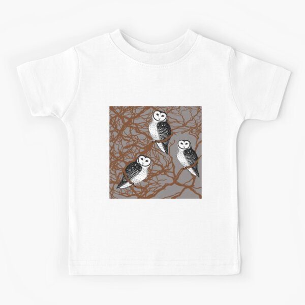 Tasmanian Masked Owl - Endangered Species Kids T-Shirt
