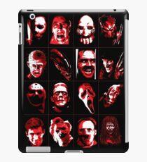 Horror Movie Icons Vector Art iPad Case/Skin
