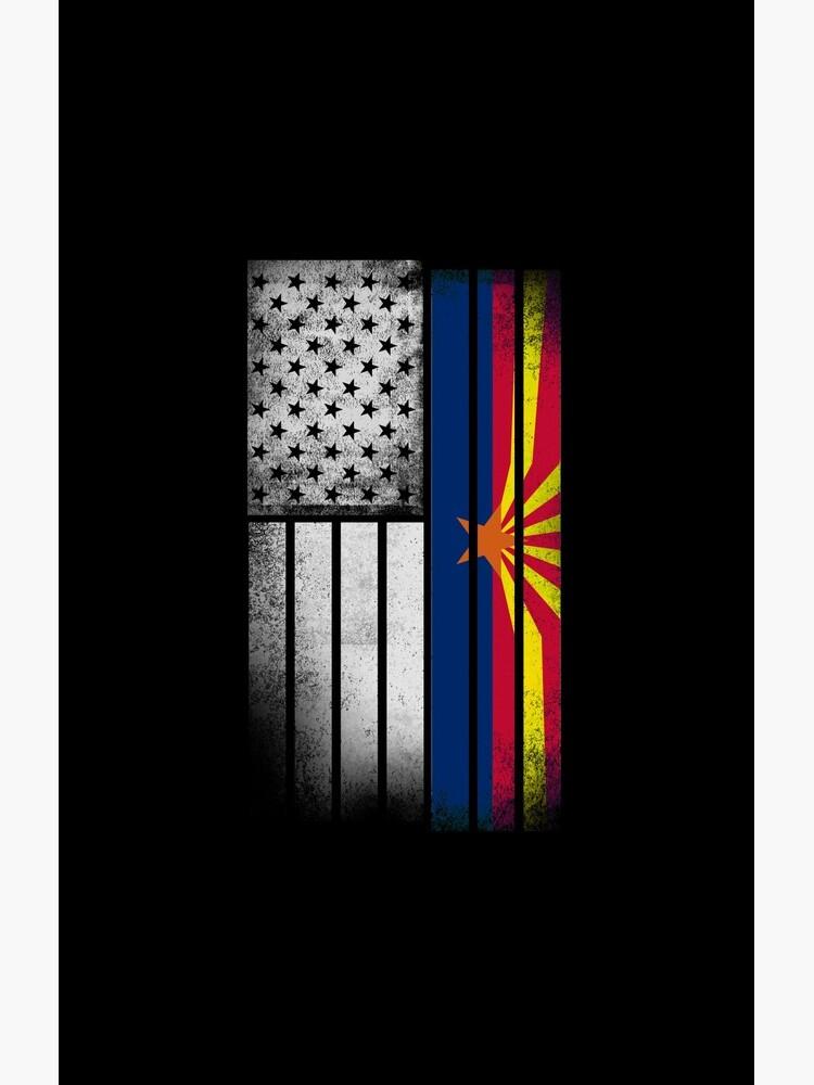 USA Vintage Arizona State Flag von ozziwar