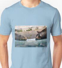 Seal-ebrity couple Unisex T-Shirt