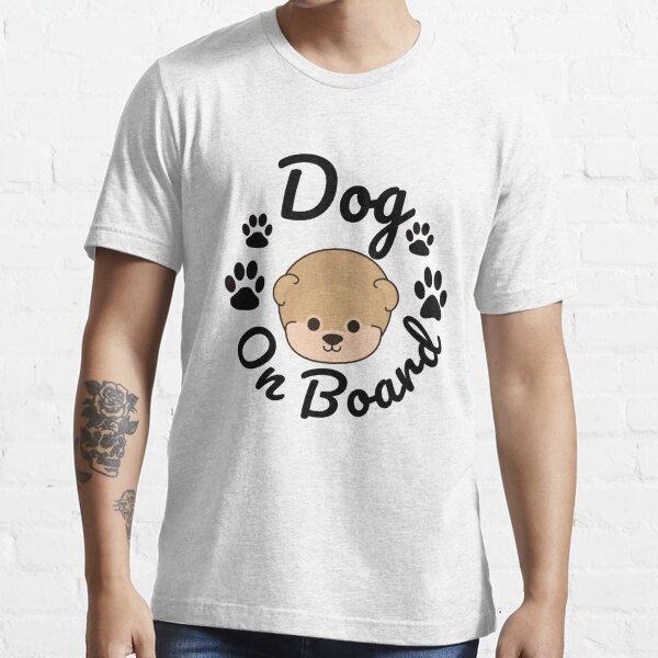 Dog On Board Essential T-Shirt