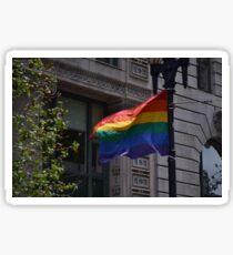 SF pride Sticker