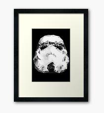 Stromtrooper Triangles Framed Print