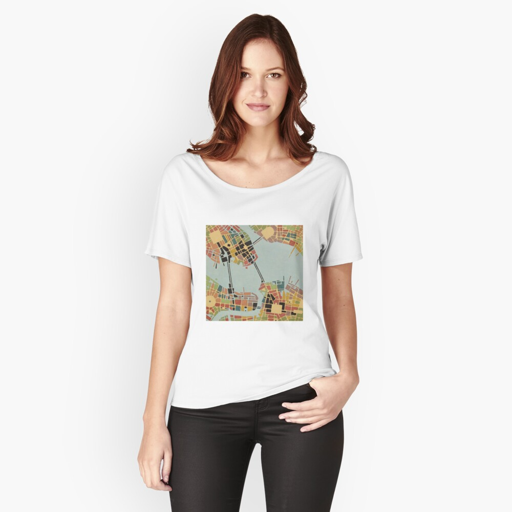 cipher n. 8  (original sold) Women's Relaxed Fit T-Shirt Front