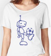Robot soccer Women's Relaxed Fit T-Shirt