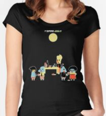 Game Jolt Party - Textless Version Women's Fitted Scoop T-Shirt