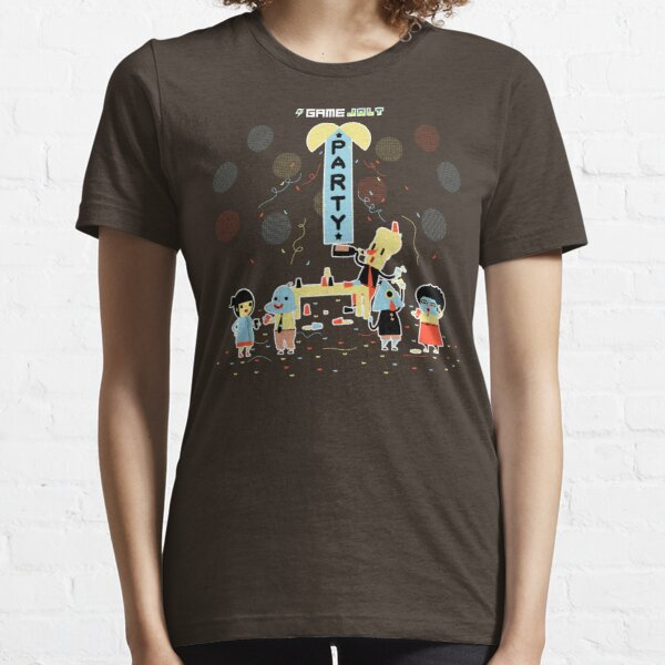 Game Jolt Party - Text Version Essential T-Shirt