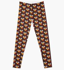 Türkei Gesicht Herz Thanksgiving Leggings
