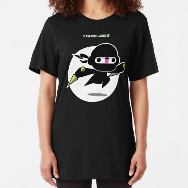 Game Jolt Ninja Slim Fit T-Shirt