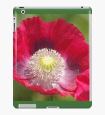 a precious poppy iPad Case/Skin