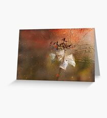 The Abstract World of Flowers Greeting Card
