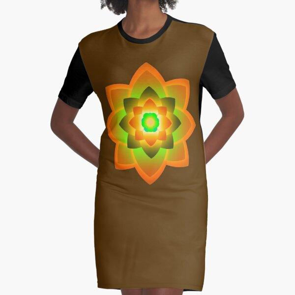 Starlight Mandala Series 5 Graphic T-Shirt Dress