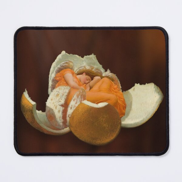 Covered in Sunshine Mouse Pad
