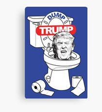 Dump Trump Canvas Print