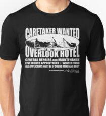 Caretaker Wanted (White Print) Unisex T-Shirt