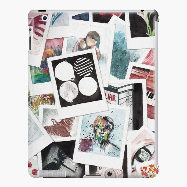 BTS Wings Polaroid Watercolor iPad Snap Case