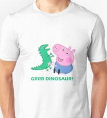 dinosaur peppa pig best friends T-Shirt