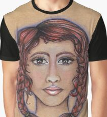 Cancer ♋️ Astrological Fantasy Portrait Graphic T-Shirt
