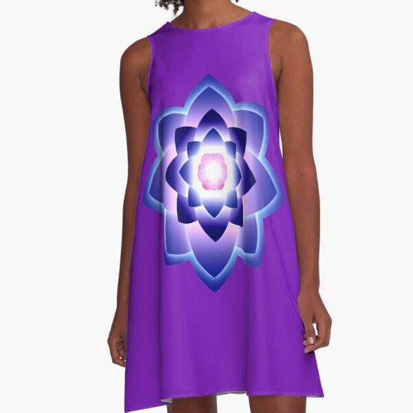 Starlight Mandala Series 4 A-Line Dress