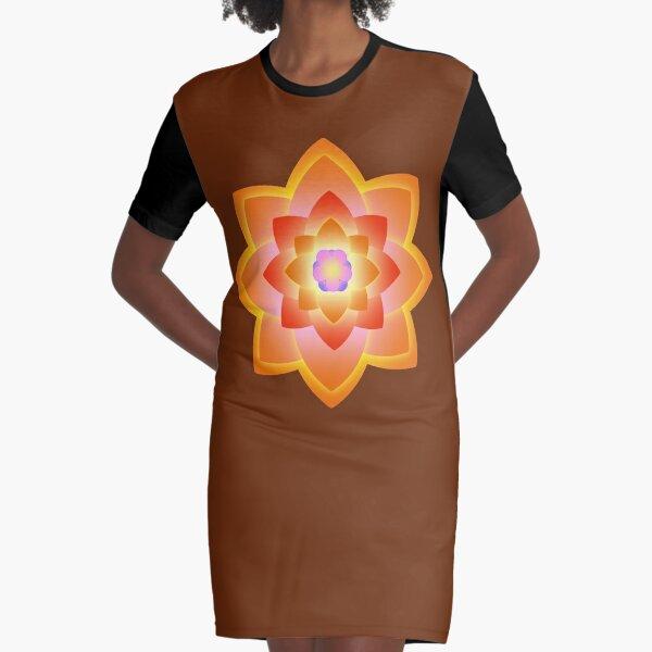 Starlight Mandala Series 3 Graphic T-Shirt Dress
