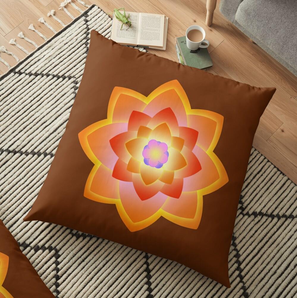Starlight Mandala Series 3 Floor Pillow