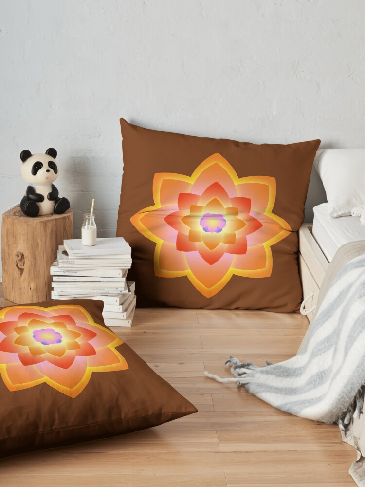 Alternate view of Starlight Mandala Series 3 Floor Pillow