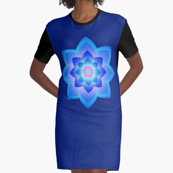 Starlight Mandala Series 2 Graphic T-Shirt Dress