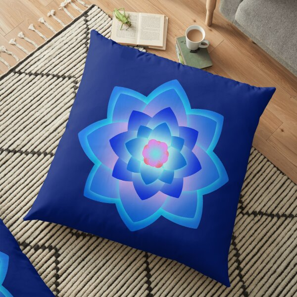 Starlight Mandala Series 2 Floor Pillow