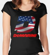 demarini voodoo vexxum insane usa flag Women's Fitted Scoop T-Shirt