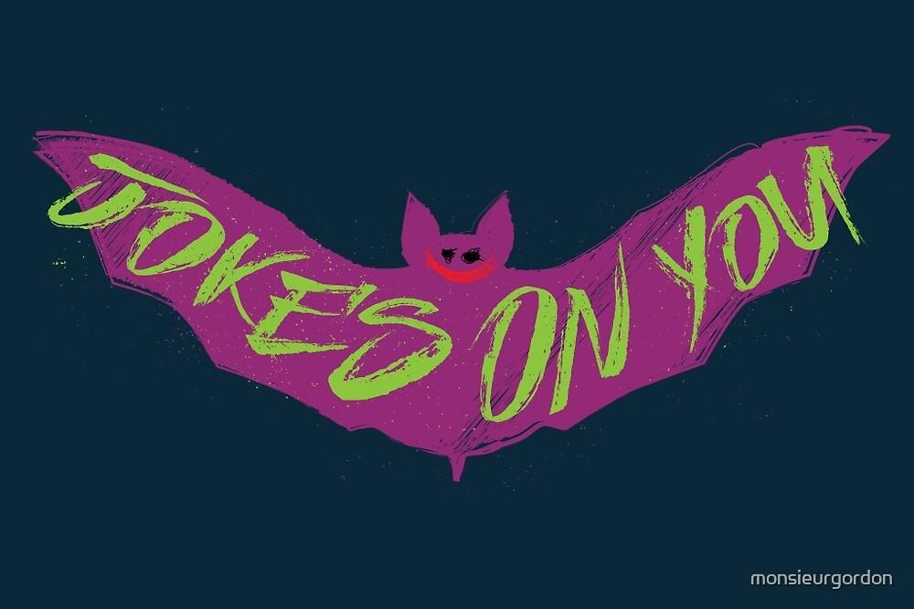 The Joking Bat by monsieurgordon