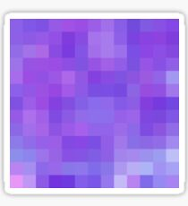 Re-Created Colored Squares No. 20 by Robert S. Lee Sticker