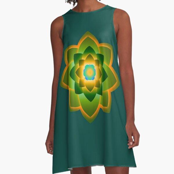 Starlight Mandala Series 1 A-Line Dress