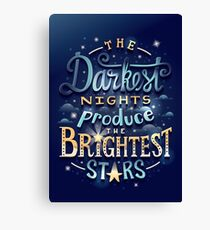 Brightest Stars Canvas Print