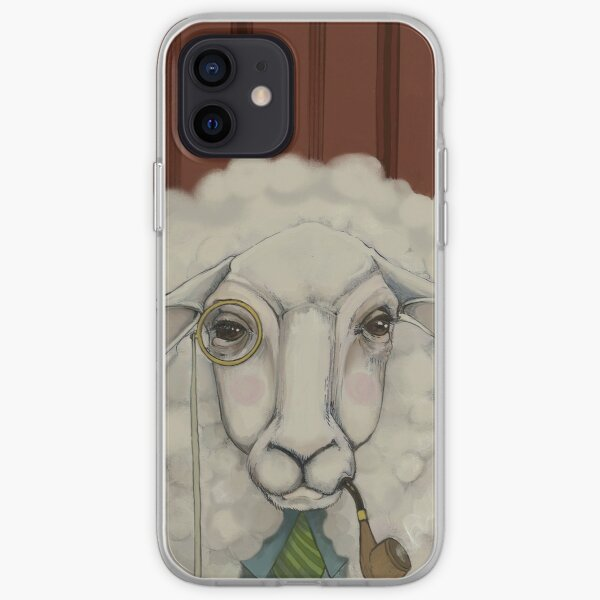 He Liked the Wallpaper  iPhone Soft Case