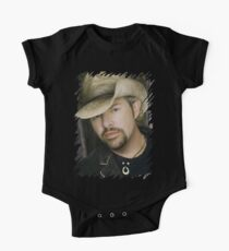 Toby Keith - Celebrity (Oil Paint Art) One Piece - Short Sleeve