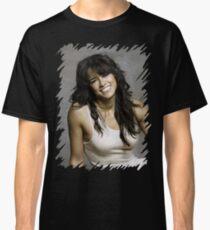 Zeman Michelle Rodriguez - Celebrity (Oil Paint Art) Classic T-Shirt
