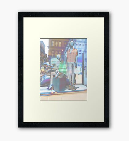 ... all mankind ... Framed Print