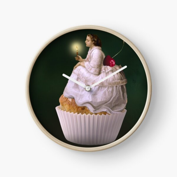 Cakes and Sweets Clock