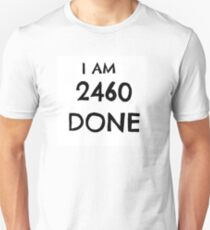 2460Done White Unisex T-Shirt