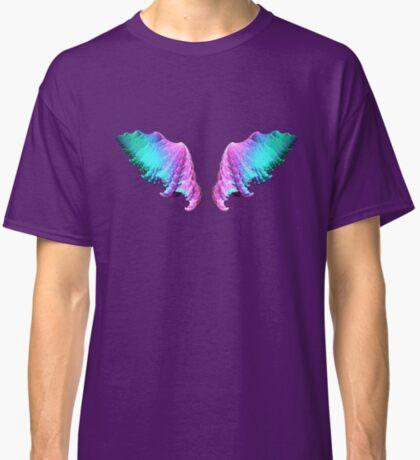 Wings #fractal art Classic T-Shirt