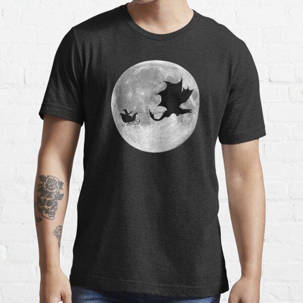 Santa Claus Dragon Rider Sleigh Ride Essential T-Shirt