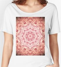 Zen Pink Mandala Women's Relaxed Fit T-Shirt