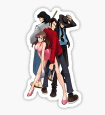 Lupin the Third Sticker