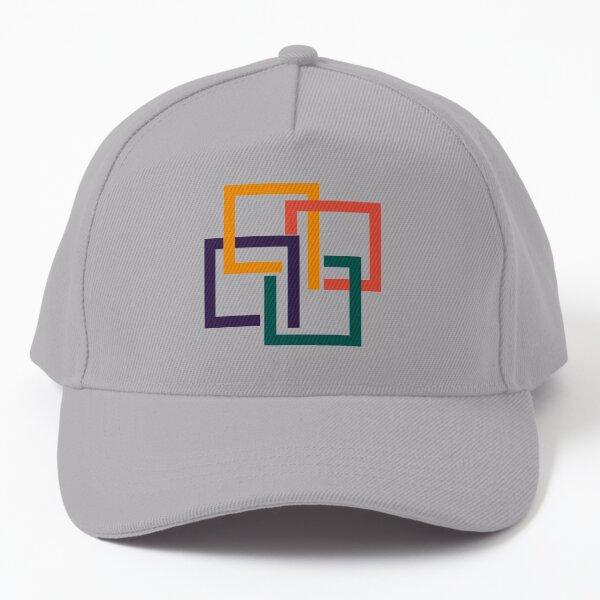 Mid century Geometric pattern modern elegant Baseball Cap