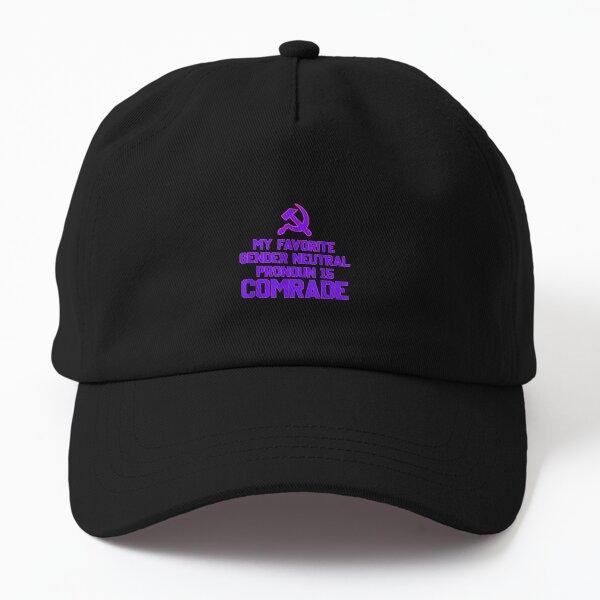 Favorite Gender Neutral Pronoun Comrade Funny Lgbtq Dad Hat