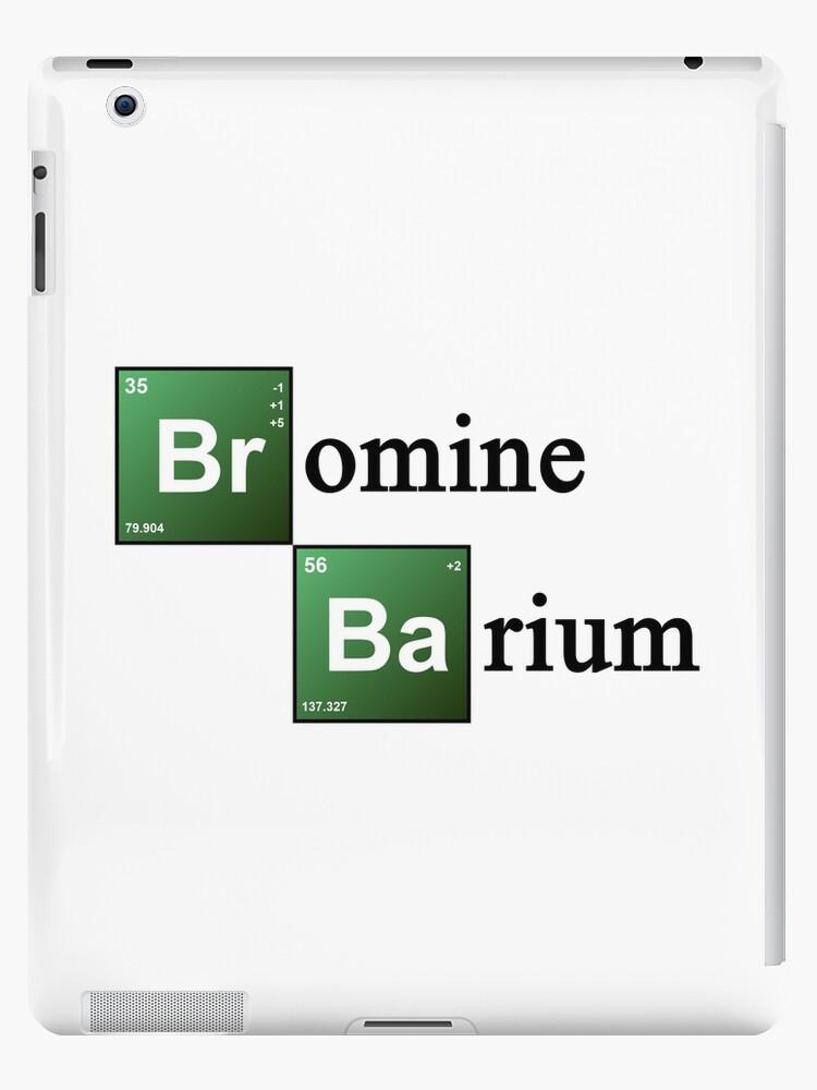 Vinilos y fundas para ipad elementos qumicos de la tabla peridica elementos qumicos de la tabla peridica de bromo y bario de theshirtyurt urtaz Images