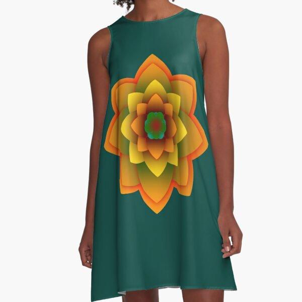 Starlight Mandala Series  A-Line Dress