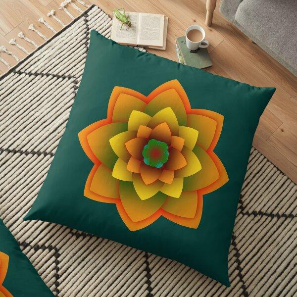 Starlight Mandala Series  Floor Pillow